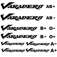 Kit loghi Varadero & gruppi sanguigni