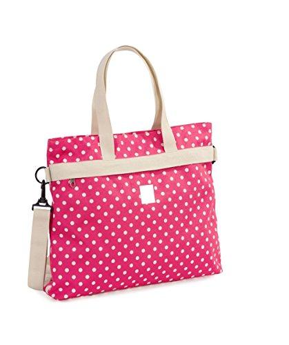 Invicta College Shopper Sac à l'épaule Sac porté main pour Femme Fille Mode Rose