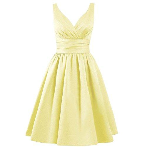 Drasawee Damen Empire Kleid 17#