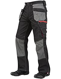 Lee Cooper Workwear Holster Pocket Cargo Pant, 42L, schwarz, LCPNT224