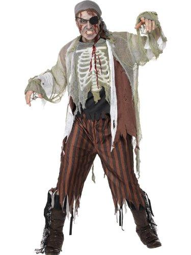 Zombie Shipmate Fancy Dress Costume Mens Size 42-44 L (Halloween)