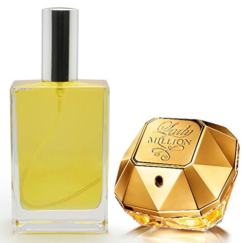 Slick-Prints Home Room Car Air Freshener Fragrance Scent Oil Spray Atomizer Inspired by Luxury Designer Perfume Lady Million for Her 100ml