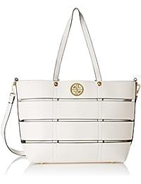 Carlton London Women's Handbag (Ivory)