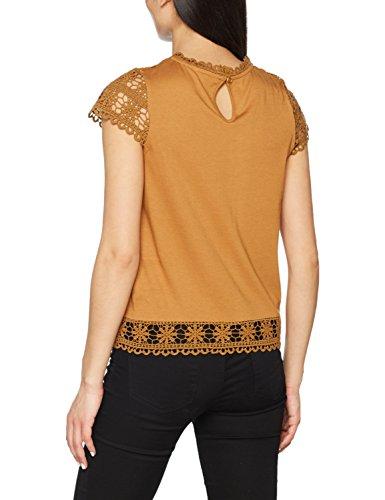 Naf Naf Damen T-Shirt Marron (SPECULOS)