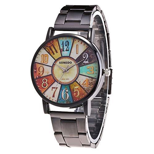 Celucke Armbanduhr Herren Quarz Uhr mit Edelstahl Metallarmband, Männer Uhren Minimalistische Analoguhr Elegant Sportuhr Klassisch Quarzuhr Business Herrenuhr