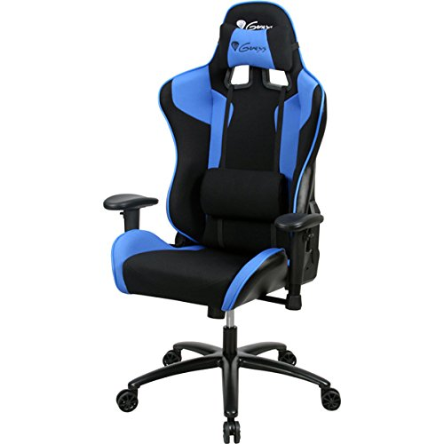 Preisvergleich Produktbild Natec Genesis – Gaming Stuhl SX77 schwarz-blau
