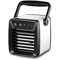 LLDKA Pequeño refrigeración silenciosa Unidad de Ahorro energético Medio Ambiente de Aire Acondicionado portátil de Aire más Fresco para Ministerio del Interior,Negro