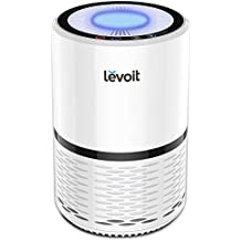 Levoit LV-H132 Purificador de Aire con Auténtico Filtro HEPA Compacto. Tres Ajustes de Velocidad, con Luz de Noche, Filtro de Aire con Poco Ruido para Hogar, Casas, Oficinas, Mascotas, Fumadores, Cocina, etc.