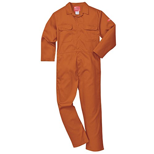 PORTWEST BIZ1 - BIZWELD BOILERSUIT  COLOR NARANJA  TALLA 3 XL