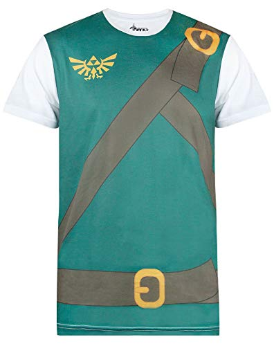 Shirt Kostüm Legend Zelda Of Link - Official The Legend of Zelda Classic Costume Cosplay T-Shirts
