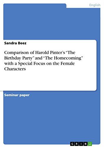 The birthday party harold pinter.