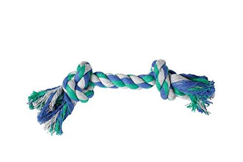Hundespielzeug: Baumwollknoten BUNT 22cm #507309
