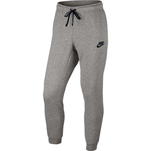 Nike M NSW JGGR FLC SP lange gris (dk grey heather / black)