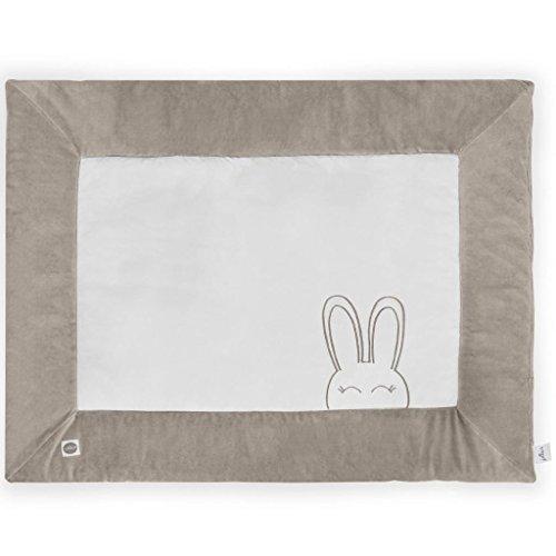Jollein Laufgitter-Matratze Laufstall 80x100 cm Sweet Bunny Sand 017-513-65102
