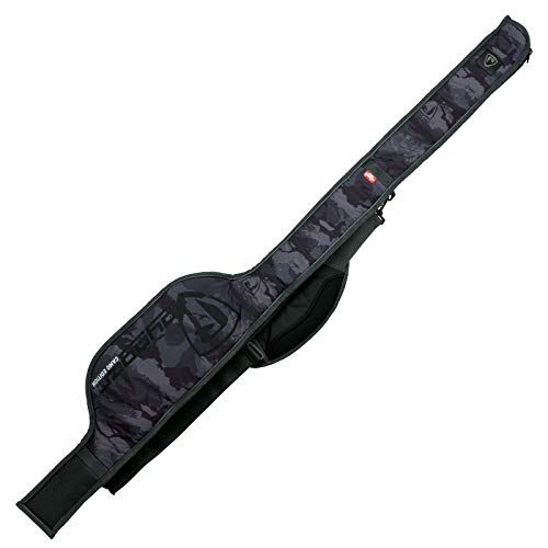 Fox Rage Rod Sleeve Camo 1,6m - Rutentasche für Spinnrute, Angeltasche für Angelrute, Tasche für Raubfischrute, Rutenfutteral