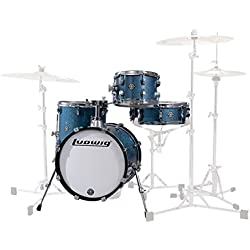 Ludwig Breakbeats LC179X023 Azure Blue Sparkle · Drum Kit