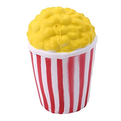 VWH Cute Popcorn Scented Squishy Squeeze Toy Slow Rising Relieves Stress Soft Toy Children Adult Toys Gift