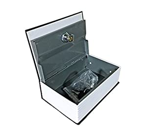 Babysid Collections Cash Jewelry Credit Debit Cards Box Book Type with Lock Size : 12 x 18 x 5.5 cm
