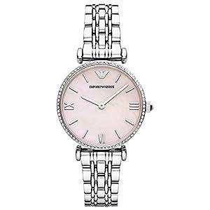 Emporio Armani AR1779 – Reloj para Mujer, Cuarzo, analógico, Correa