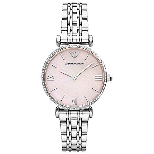 Emporio Armani Damen-Armbanduhr Analog Quarz Edelstahl AR1779
