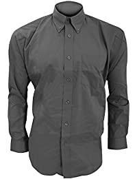 Amazon.co.uk: Grey - Shirts / Men: Clothing