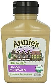 Annie'S - Organic Mustard Dijon 9 Oz. 136318