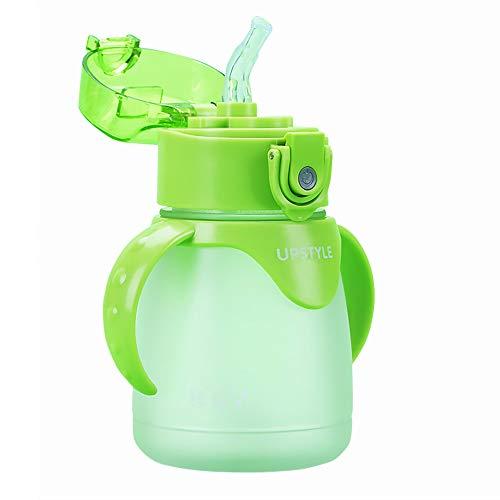 leche caf/é / verde t/é tama/ño/ UPSTYLE Retro taza de caf/é Eco-friendly paja de trigo ligero taza Biodegradable taza vaso de pl/ástico con asa para agua