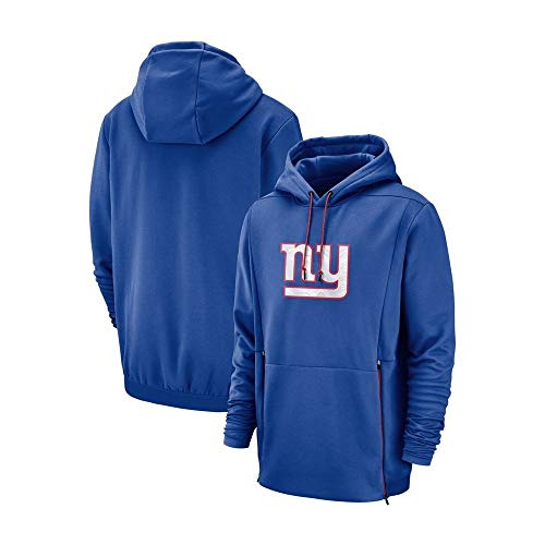 Herren Hoodies Für New York Giants Sweatshirt Lässige Kapuzenpulli Fans Trikots for American Football Game (Color : Blue, Size : L)
