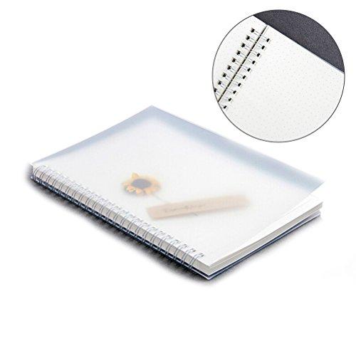 iben Notebook, Journal Tagebuch für Zeichnung Malerei 14.8x21.2cm (Punkte) (Spirale Notebook)