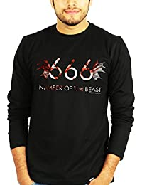 Number of the Beast Iron Maiden Full Sleeves Tshirt - Band Tshirts by The Banyan Tee ™