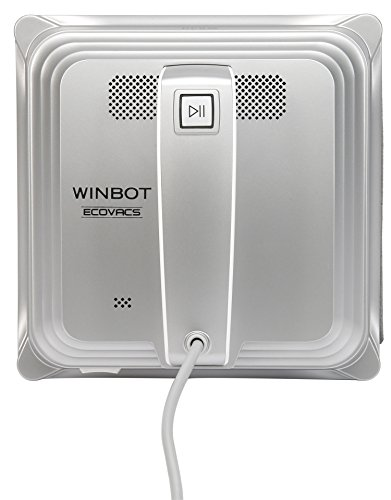 Ecovacs Winbot - Robot limpiador de cristales, color plateado