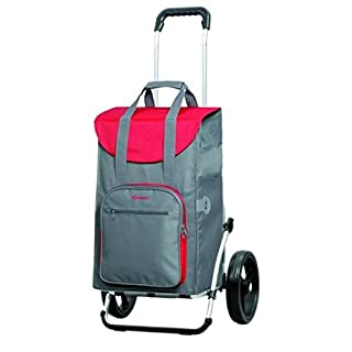 Andersen Shopping trolley Royal with bag Wismar grey, Volume: 45L, thermal bag and aluminium frame