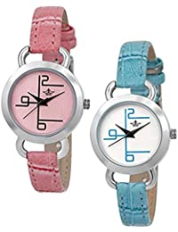 Swisso Slim Style Analogue Watch For Women-Combo Of Woman Watch