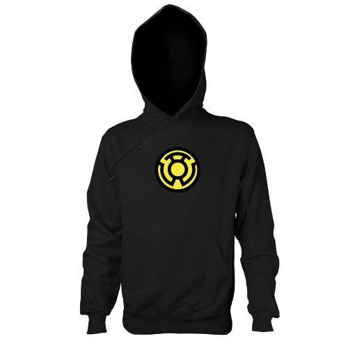 TEXLAB - Sinestro Corps - Kapuzenpullover, Herren, Größe M, schwarz