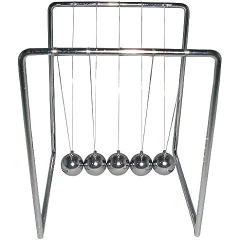 Classic Newton Cuna de acero Balance Balls Física Ciencia accesorio casa oficina decoración de escritorio, juguetes