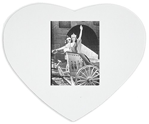 heartshaped-mousepad-with-woman-in-chariot