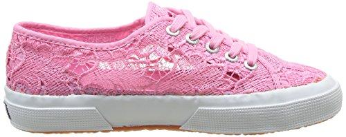 Superga 2750 Macramew, Chaussons Sneaker Adulte Mixte Rose - Pink (Bergonia Pink SV28)