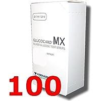 glucocard MX - 100 Streifen reagenz für Testen Sie die der Blutzucker - Gluco card preisvergleich bei billige-tabletten.eu