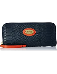 Hidesign Women's Clutch (Blue)