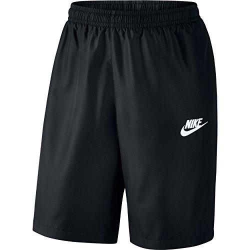 Nike M NSW Short WVN Season kurze für Herren Schwarz (Black/White)