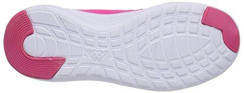 Chaussures Kappa Speed Ii Unisexe, Baskets Basses Unisex Adultes Rosa (rose (2210 Rose / Blanc))