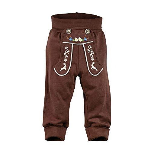 BONDI Trachten Laufhose, braun 74 Tracht Baby Jungs Artikel-Nr.91218