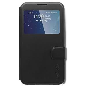 Spigen Wallet View Coque pour Samsung Galaxy S5 Noir