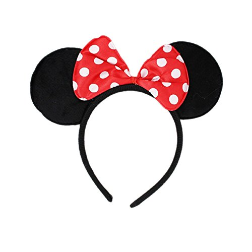 Theme My Party Ears Head band - Red (Red)