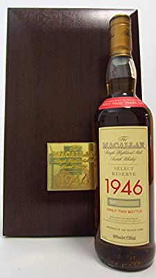 Macallan - Select Reserve - 1946 52 year old Whisky