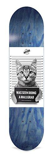 Inpeddo Skateboard Deck Mallgrab Cat 7.75