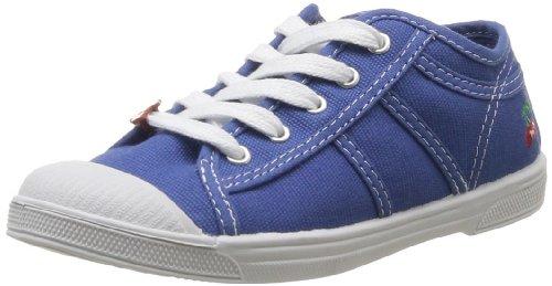 Little Cerise Basic 02, Mädchen Sneaker Bleu (Olympian)