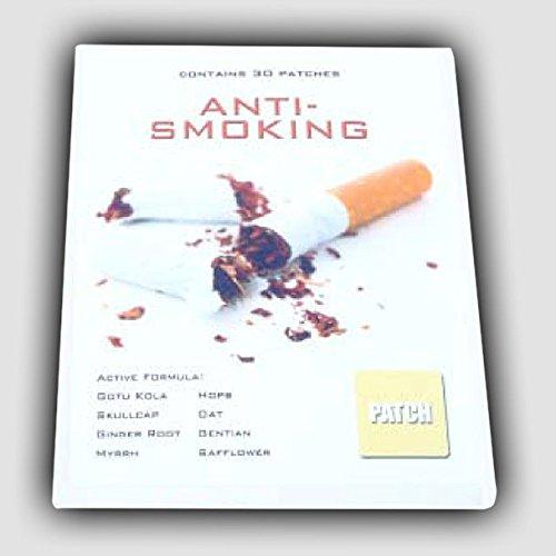 30 x ANTI SMOKING Patches / Pflaster | 100% natürlich Inhaltsstoffe ohne Nikotin! Raucherentwöhnung Rauchen-frei | Premium Qualität - Rauchen Patch