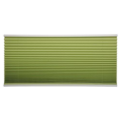 Sol Royal Plissee SolDecor P25 – 45×100 cm Grün – Klemm-Fix ohne Bohren – Plissee-Rollo Jalousie für Fenster & Türen - 4