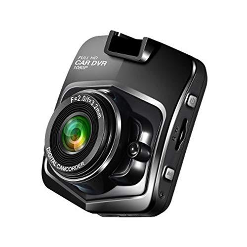 TIANZZ Mini Dash Cam Full HD 1080 P Auto Dash Cams DVR Armaturenbrett Kamera Eingebaute G-Sensor Bewegungserkennung Loop Recorder,Black